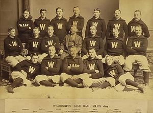 1895 Washington Senators season - Team photograph
