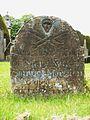 18th c. gravestone, Baslow.JPG