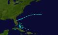 1906 Atlantic tropical storm 9 track.png