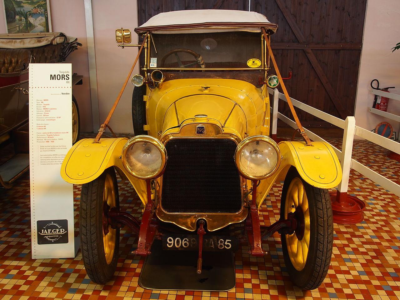 1913 mors rx 12cv 4 cyl at the mus e automobile de vend e pic 2 jpg. Black Bedroom Furniture Sets. Home Design Ideas