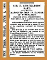19160602 Sir E. Shackleton Safe - The Times (London).jpg