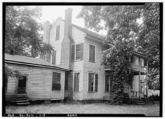 Aliceville, Alabama - Ingleside house in Aliceville, June 1937