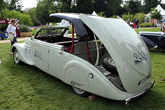 Retractable hardtop - Peugeot 402 Eclipse Decapotable (1938)