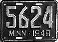 1948 Minnesota license plate.JPG