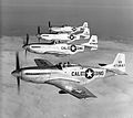 194th Fighter Squadron - North American F-51D 4-aircraft formation.jpg