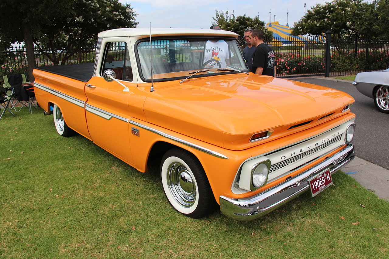 All Chevy chevy c10 wiki : File:1966 Chevrolet C10 Fleetside Pickup (33232602542).jpg ...