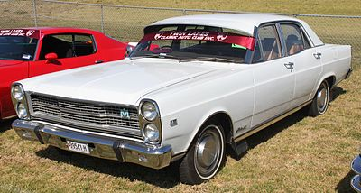 1970 1972 Ford Fairlane ZD 500