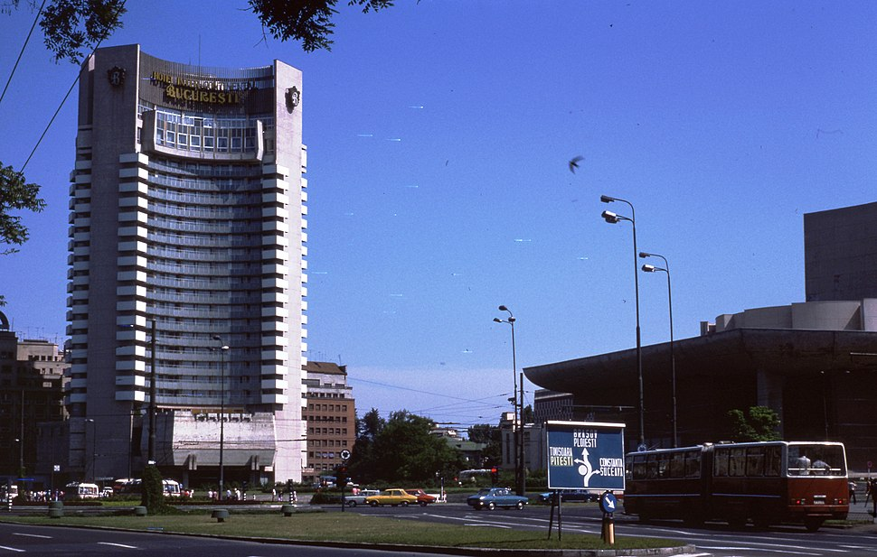 1976 Buildings in Bucuresti, Romania