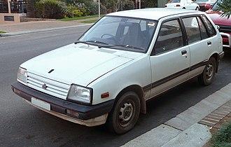 Holden Barina - 1985–1986 Holden Barina (MB)