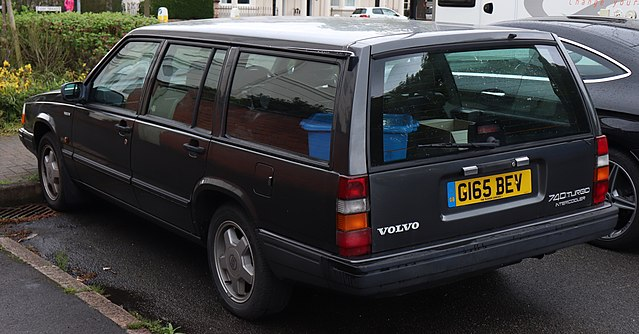 File:1990 Volvo 740 Turbo 2 3 Rear jpg - Wikimedia Commons
