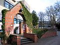 1990 durch Schüler vom Berufsschulzentrum in Hannover in der Ohestraße errichtetes Mahnmal zur Erinnerung an jüdisches Leben.jpg
