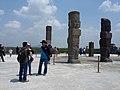 19 Atlantes de Tula y las piramedes. Tula, Estado de Hidalgo, México, también denominada como Tollan-Xicocotitlan.jpg