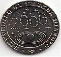 1 песо. Куба. 2000. Новое тысячелетие - Космос.jpg