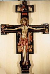 Crucifix Berlinghieri de Rome