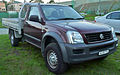 2006 Holden RA Rodeo (MY06) LX 2-door cab chassis 01.jpg