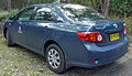 2007-2009 Toyota Corolla (ZRE152R) Ascent sedan (NSW Department of Commerce) 01.jpg