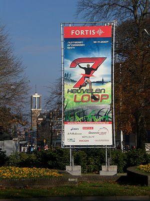 Zevenheuvelenloop - An advertisement for the 2007 race
