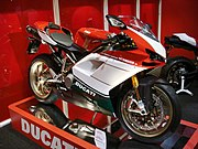 Ducati 1098 S Tricolore super bike