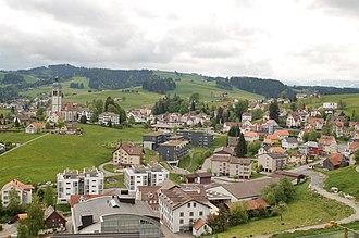 Speicher, Switzerland - Image: 2008 05 17 Speicher Kanton Appenzell Ausserrhoden 5466