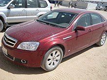 2008 Chevrolet Caprice Middle East