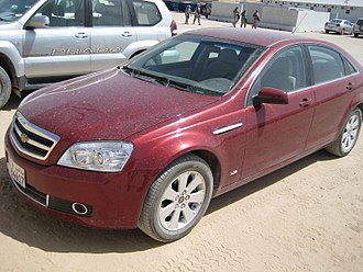 Holden Caprice (WM) - Middle East Caprice