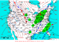2009-01-13 Surface Weather Map NOAA.png