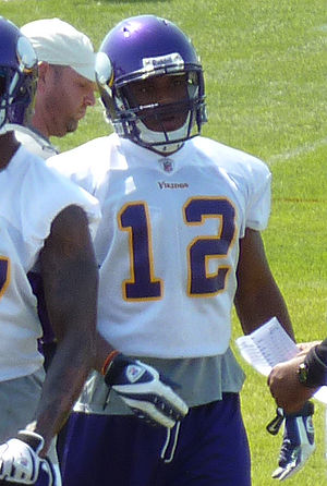 Percy Harvin - Harvin at the 2009 Vikings training camp