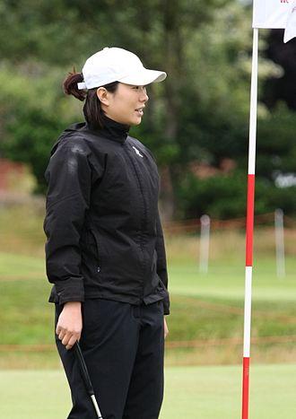 Ahn Shi-hyun - Ahn before 2009 Women's British Open