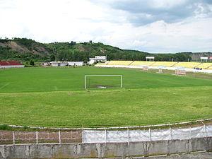 Stadionul Municipal (Turda) - Image: 2010 IMG 6312