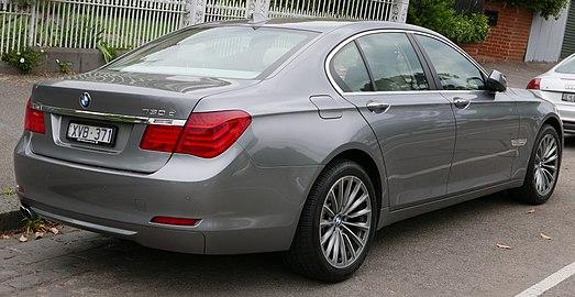 BMW 7 Series F01