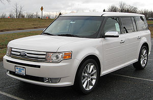 Ford Flex - Image: 2010 Ford Flex Limited 1 11 25 2009