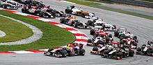 Photo du départ du Grand Prix