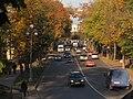 2012-10-03 Гатчина. Вид на пр. 25 Октября с Балкона-террасы у Карпина пруда.jpg