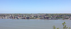 View of Yonkers from the New Jersey Palisades in 2013