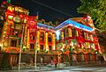 2013 Melbourne Town Hall Christmas Projection (11418498496).jpg