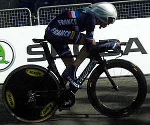 2013 UCI Road World Championships – Women's junior time trial - Winner Séverine Eraud