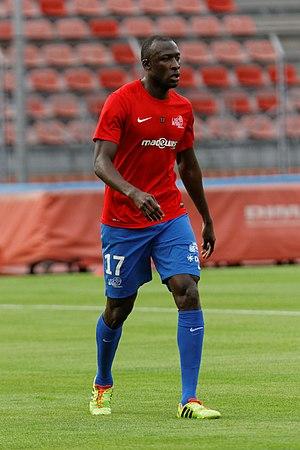 Cheikh N'Doye - N'Doye playing for Créteil in August 2014