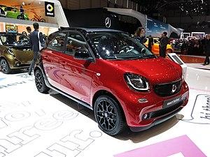 Smart Forfour - Image: 2015 03 03 Geneva Motor Show 3784