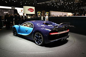 Bugatti Chiron - Bugatti Chiron on display.