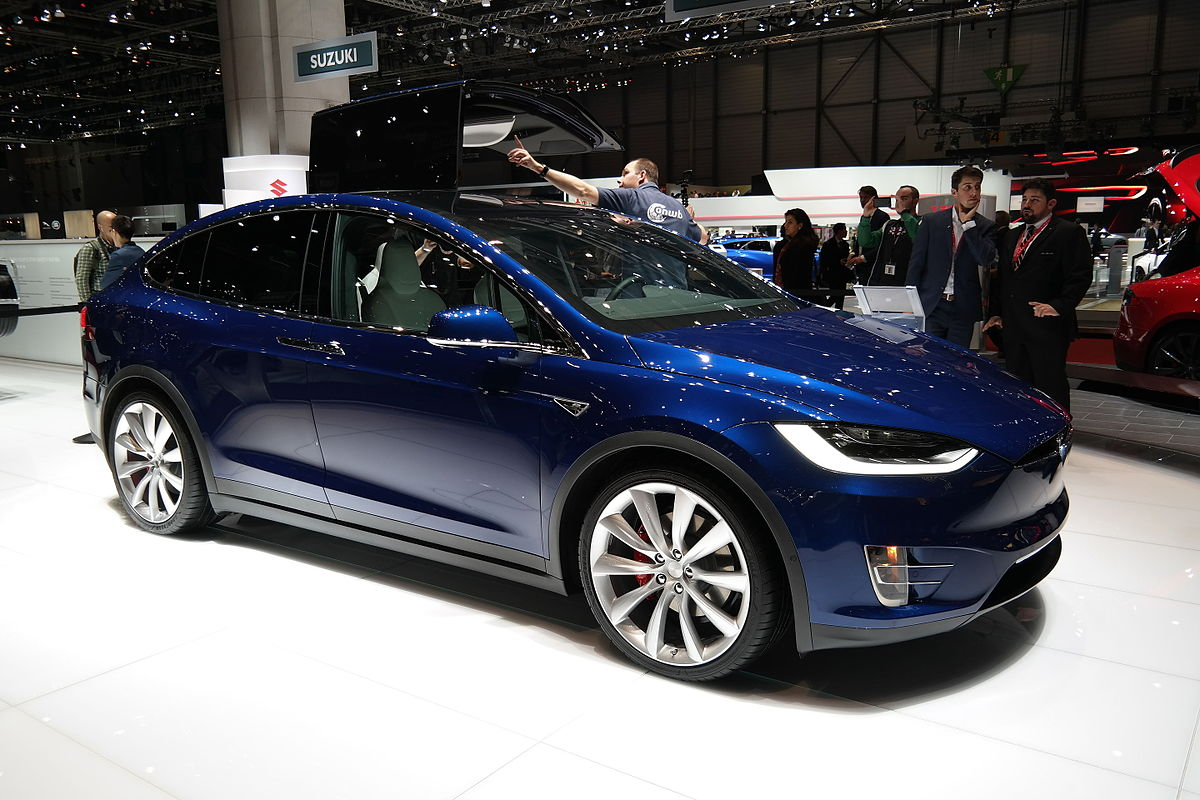 Tesla Model X - Wikipedia, la enciclopedia libre