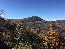 2016-10-25 11 00 46 View southwest from the Crescent Rock Overlook along Shenandoah National Park's Skyline Drive in Page County, Virginia.jpg