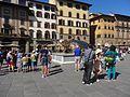2016 Piazza della Signoria - Giant turtle sculpture 01.jpg