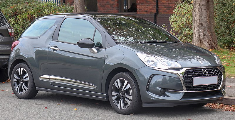 File:2017 DS 3 Chic PureTech 1.2 Front.jpg