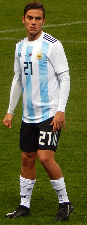 Paulo Dybala - Dybala playing for Argentina against Russia in 2017