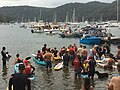 2019 Scotland Island Pittwater NSW Christmas Day pooch race 7.jpg