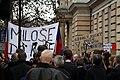 25. výročí Sametové revoluce na Albertově v Praze 2014 (13).JPG