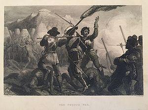 John Mason (c. 1600–1672) - Pequod War Etching