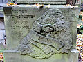 251012 Detail of tombstones at Jewish Cemetery in Warsaw - 74.jpg