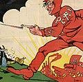 25 октября 1917 года —7 ноября 1920 года. Третья годовщина коммунистической революции в России — крах мирового империализма (cropped).jpg