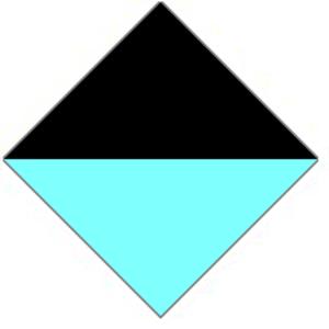 25th Battalion (Australia) - Image: 25th Battalion AIF Unit Colour Patch